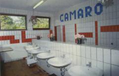 Der Camping-Ferienpark CAMARO Grömitz hat moderne, beheizte sanitäre Anlagen